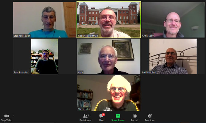 June Committee Meeting via Zoom